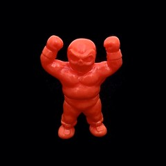 Sweet micro sofubi lucha from the One-Up gachas...