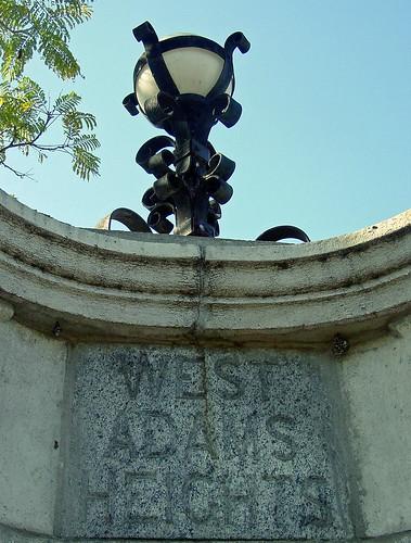 01b - West Adams Heights - Street Monument (E)