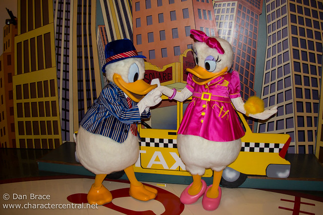 Meeting Donald and Daisy