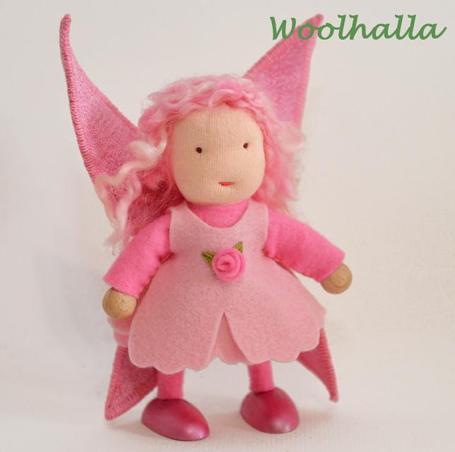 Fairy Rose Dollhouse Doll