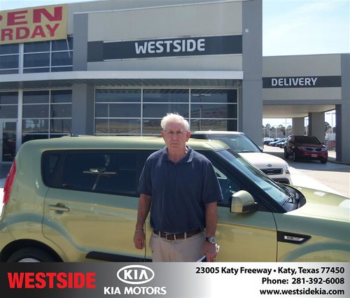 Happy Anniversary to John Irwin Horning on your 2013 #Kia #Soul from Chowdhury Rubel and everyone at Westside Kia! #Anniversary by Westside KIA