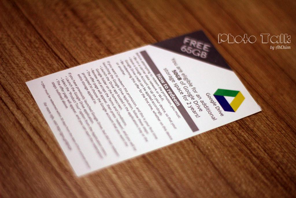 MotoG Free 50GB GoogleDrive