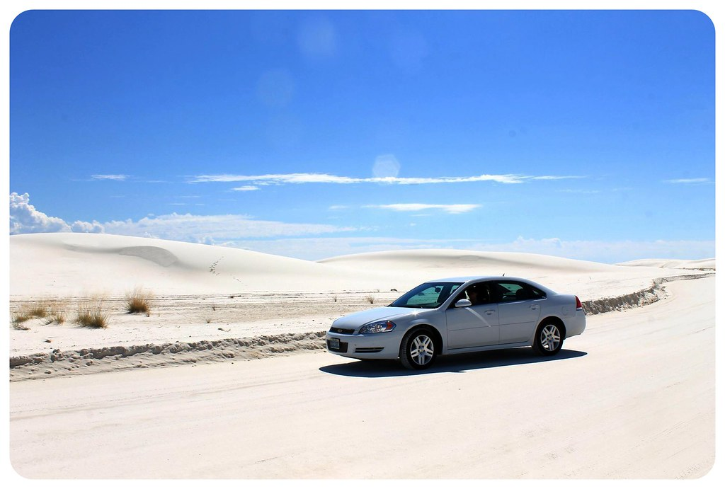 White Sands New Mexico car
