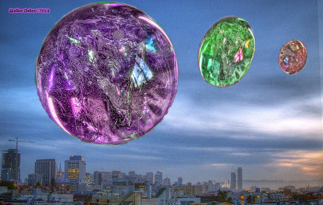 National Bubble Day, HDR Montage