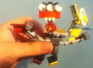 Mixels Series 1 Murp The Following Redylw Ylwgry Redgry Red