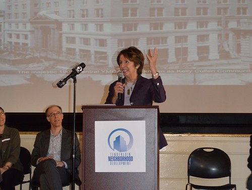 Congresswoman Pelosi celebrates the Success of the Kelly Cullen Community in the Tenderloin