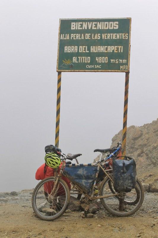 Abra del Huancapeti - 4580m