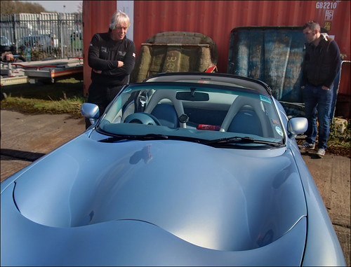 Admiring a TVR Tuscan