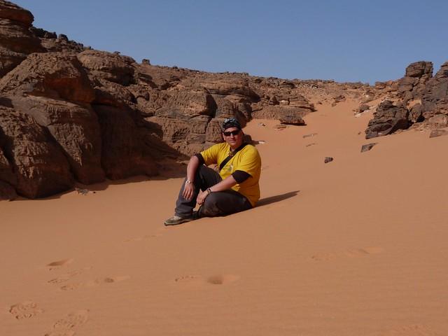 Sele en Jebel Uweinat (desierto Líbico, Egipto)