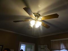 daylighting(0.0), light fixture(1.0), ceiling fan(1.0), ceiling(1.0), mechanical fan(1.0), lighting(1.0),