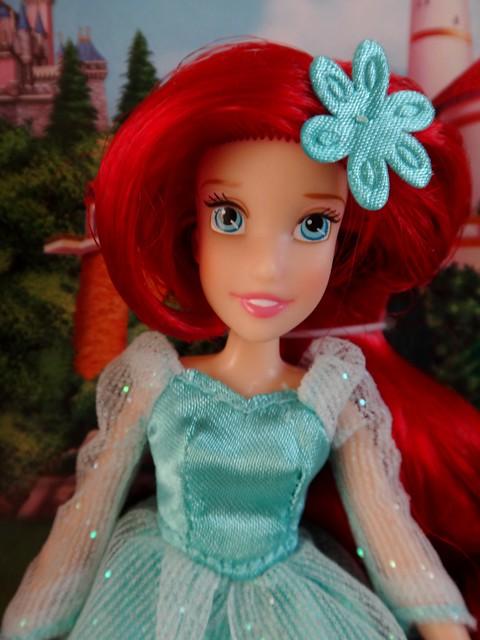 2014 disney parks princess mini doll set 2 modern princesses