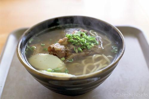 ソーキそば / Soki-Soba noodle