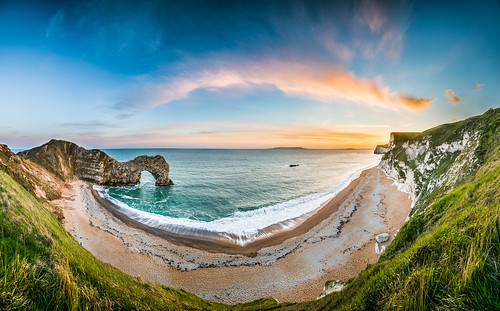 Durdle Door Sunset 180