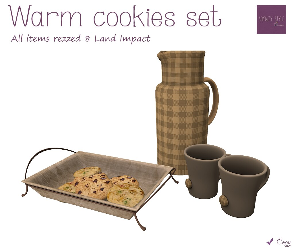 Serenity Style- Warm Cookies Set