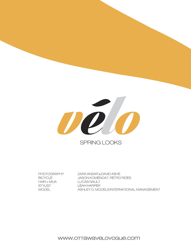 Velo Spring Looks Title Page Look 2