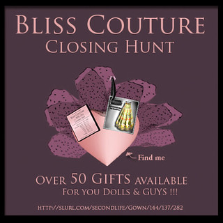 *Bliss Couture*  - GROUP GIFT FREE