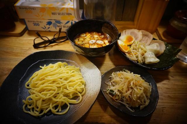 Tsukemen Yasubee: Spicy Tsukemen Set
