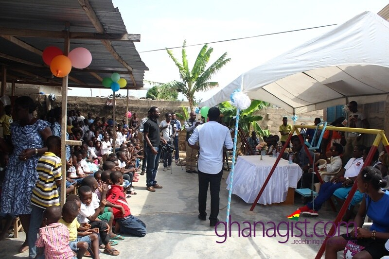 Samini and HighGradeFamily throw party for deprived children