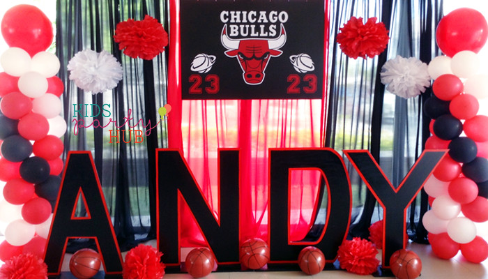 Sports NBA Themed Party