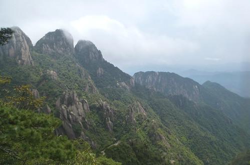 Jiangxi-Sanqing Shan- 2 sentier de l'ouest (10)