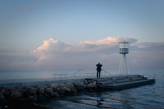 Image of Bellevue Strand near Charlottenlund. beach copenhagen nikon københavn klampenborg rawtherapee bellevuestrandpark d3100