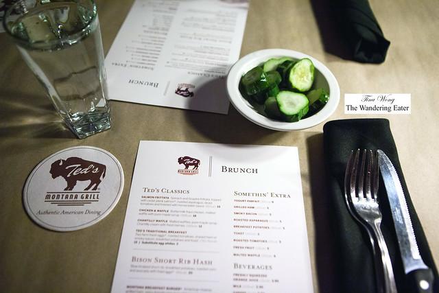 Brunch menus