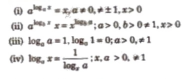 CBSE Class 12 Maths Notes Logarithm