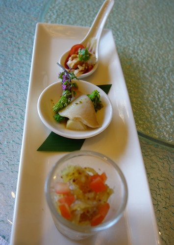 Set Lunch - Trio of Appetizers - Shisen Hanten