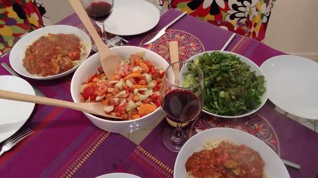 Delicious Homemade Dinner, La Serena, Chile