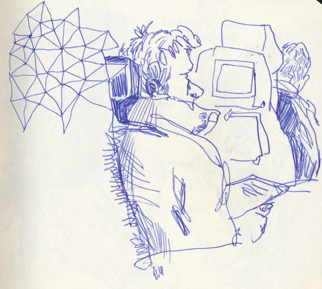 Sketchbook #89: Sketching while traveling