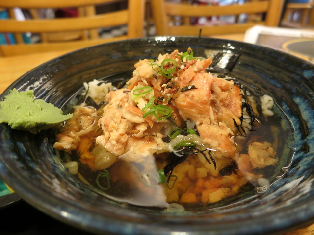 2015.06.29鮭魚茶泡飯