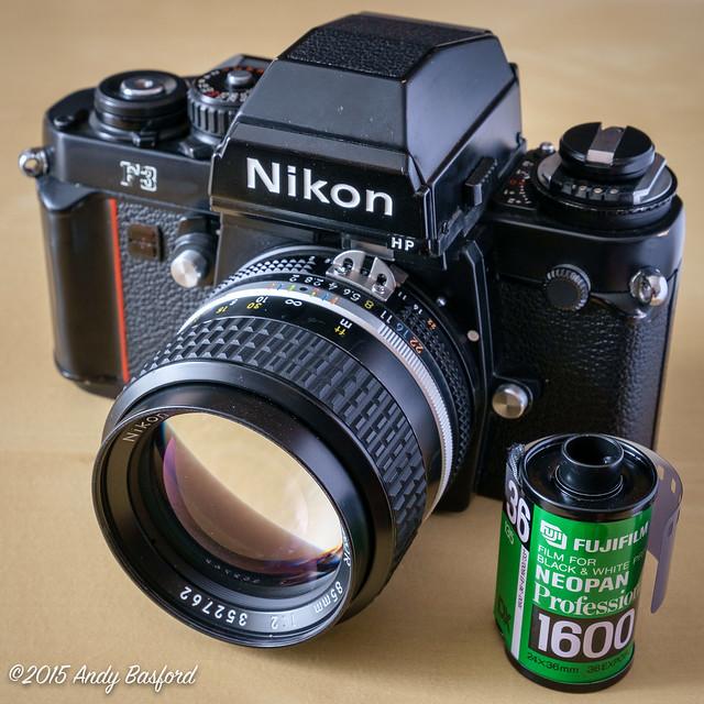Nikon F3 + Nikkor 85mm f2