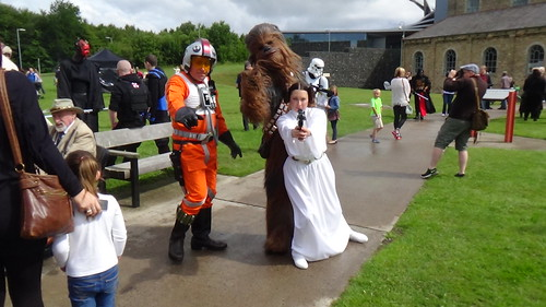 Star Wars at Woodhorn Museum July 15 2