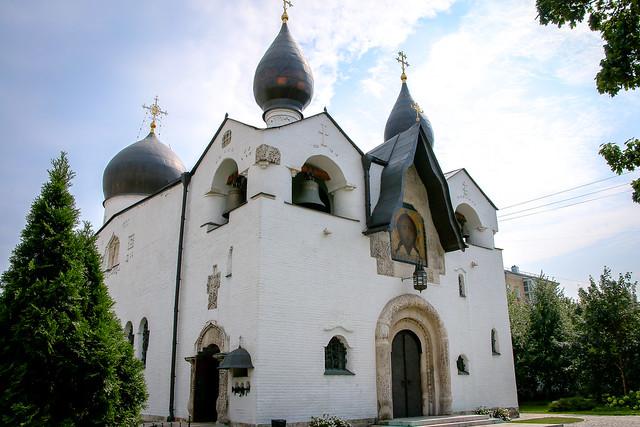 Marfo-Mariinsky Convent, Moscow, Russia モスクワ、マルフォ・マリンスカヤ修道院