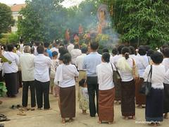Buddhist Full Moon celebration - Siem Reap Cambodia