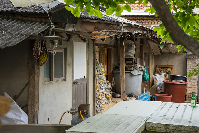 Old house, Gunnae-ri, South Korea