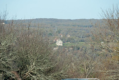 Chapelle Notre-Dame-des-Graces in Lacapelle-Livron, as seen from Domain La Poujade
