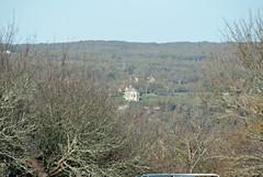 Chapelle Notre-Dame-des-Graces in Lacapelle-Livron, as seen from Domain La Poujade - Photo of Vailhourles