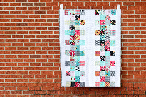 Nordika Baby Quilt by Jeni Baker