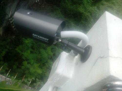 ติดตั้งระบบ CCTV ให้กับบ้านคุณเกดรามคำแหง – 09/03/56