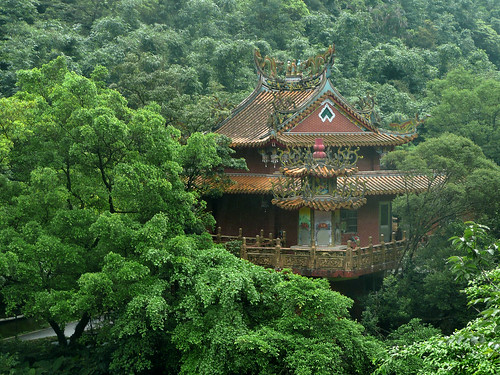 Temple/Pagoda in the Forest