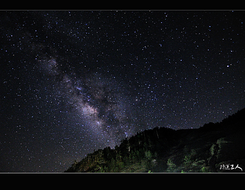 **夏季銀河 + 七股蚵架夕彩**