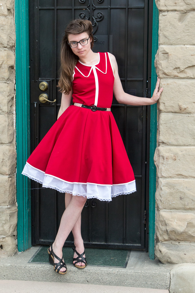 Red Dress, Petticoat, Never Fully Dressed (Without a Style), Remix,