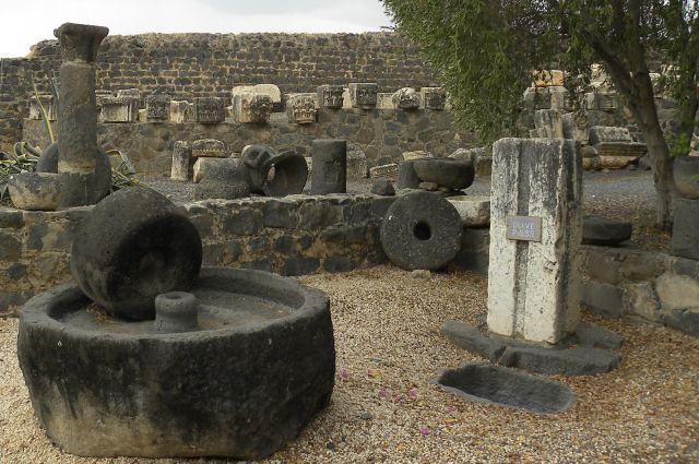 LCH June 03 Capernaum Relics