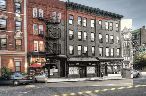 The Madison Hotel in 1955 and 2013.