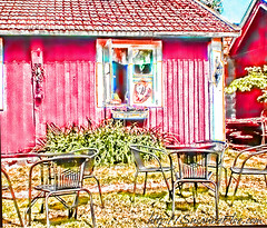 redharmony posted a photo:	Ice Cream Paradise in Ekenas, Finland