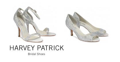 Stylish wedding shoes.