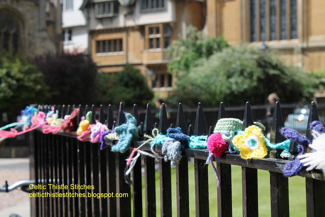 Yarn bombing 2 Oxford