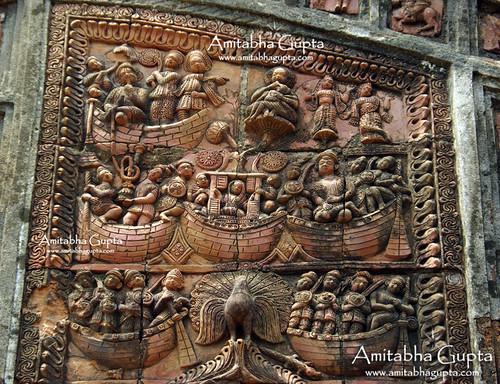 india heritage tourism temple terracotta bengal jaipur westbengal jaypur bankura joypur deparatemple kamalekamini