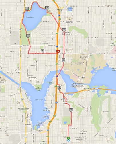 Today's awesome walk, 8.53 miles in 2:32 by christopher575